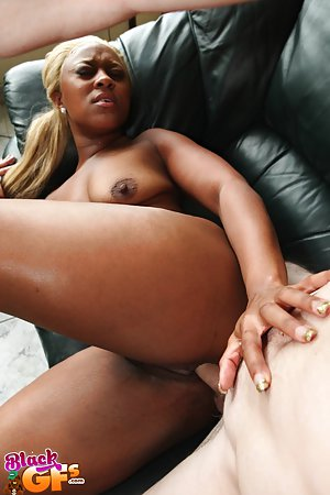 big booty blonde fucks gif